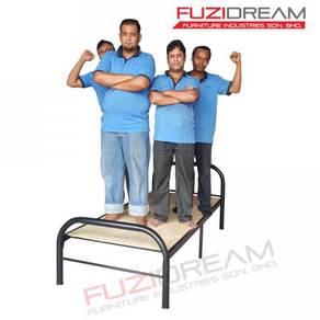 Katil BARU Asrama Single Bed Heavy Duty