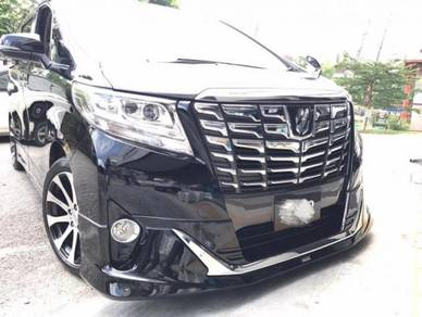 Alphard v agh30 normal modelista bodykit w paint