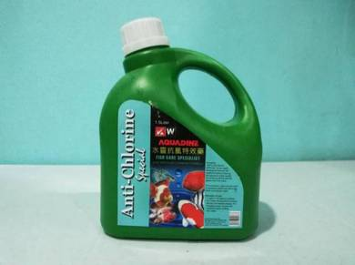 Aquadine Anti Chlorine Klorin Aquarium Fish 1.5L