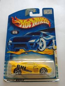 Hotwheels Toyota Celica Yellow