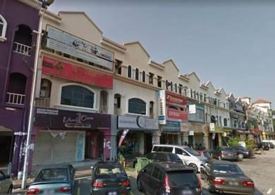3 storey shoplot office Dataran sunway kota damansara facing MAIN ROAD