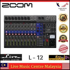 Zoom L-12 LiveTrak Digital Mixer (L12 l-20 l20)
