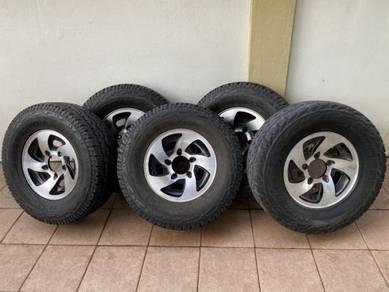 5set Rims and Tyre Suzuki Jimny