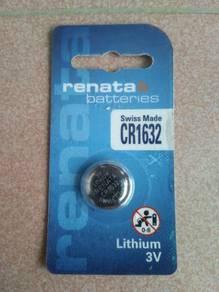 RENATA CR1632 3V Lithium Coin Battery Swiss Made