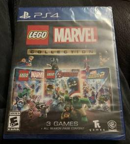 NEW SEALED PS4 Games Lego Marvel Collection 3 in 1