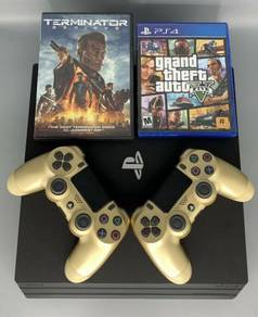 Ps4 pro Console1tb + Games AND CONTROLLER