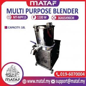 Stainless steel blender 18l
