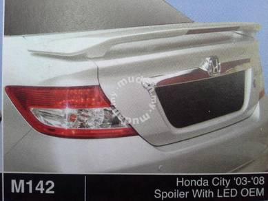 Honda city 03 to 08 fibre spoiler without paint