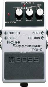 BOSS NS-2 Noise Supressor Guitar Pedal (FREE Cable