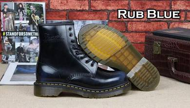 Dr Martens 1460 8 Eye Original Rub Blue