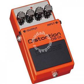 BOSS DS-1X - Distortion Guitar Pedal (FREE Cables)