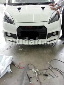Perodua Alza R35 Front Bumper and Bonnet
