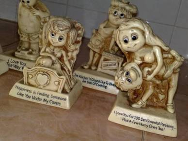 Patung antique collectible R&W berries figurines 7