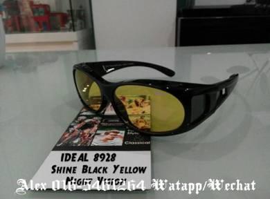 IDEAL SUNGLASSES (8928 Shine Black yellow)