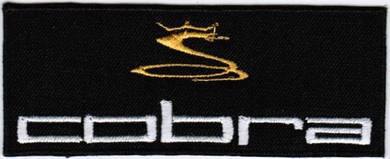Cobra Golf #TB Badge PGA Embroidered Patch