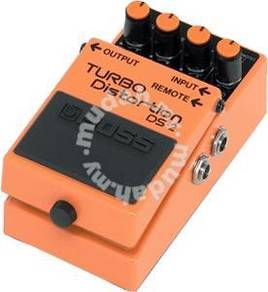 Boss ds2 / ds-2 Distortion Guitar Pedal(FREE Cable