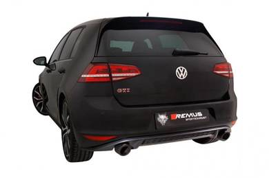 VW Golf 7 MK7 GTI exhaust system