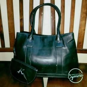 Tote Bag Leather Kitamura (Defect)