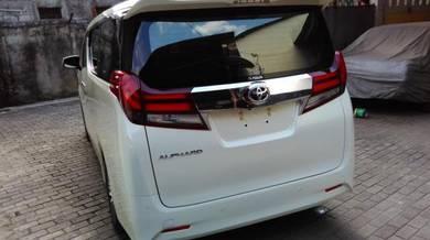 Toyota Alphard 2015 anh30 rear Taillamp light