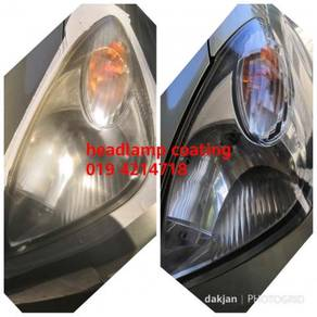 Headlamp coating