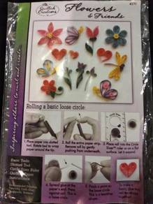 Paper Quilling beginners kit set art and craft