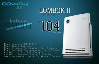 Coway Lombok rbd plasma
