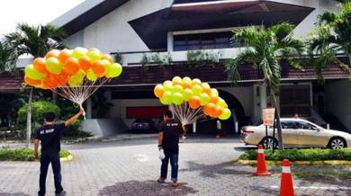 Balloon Helium 30/50 pcs Self Pickup 00382