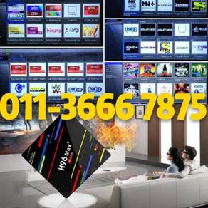 MAX LIVE 4G+64G android msia tv box
