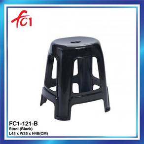 Furniture Oval Shaped Plastic Stool Chair