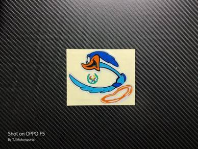 Stiker Pangkah Benetton Road Runner