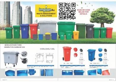 MGB mobile garbage bin tong kitar semula recycle d