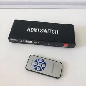 HDMI switch 5 ports