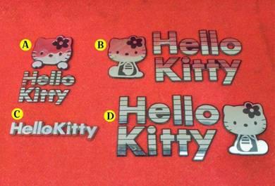 Hello Kitty Logo Emblem myvi kancil axia l9 l7 l2