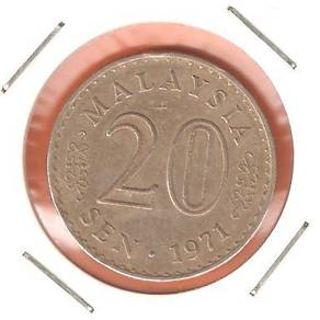 20 CeNTS MALAYSIA 1971 - M01