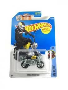 Hotwheels US Honda Monkey Z50 #5 Yellow
