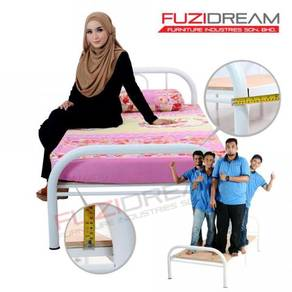 Katil BARU Asrama Single Bed Heavy Duty