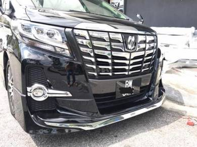 Alphard zg agh30 aero modelista bodykit with paint