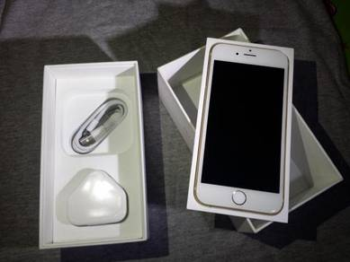 I Phone 6S 16GB & New Ori Charge & Cable