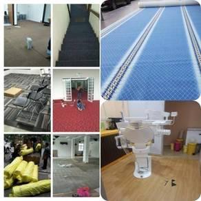 PRO.DESIGN.Promosi carpet ofice,siap pasang