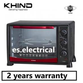 KHIND OT2502 Electric Oven Toaster 25L wt Rotisser