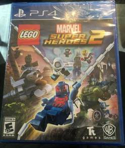 NEW AND SEALED PS4 Game Lego Marvel Super Heroes 2
