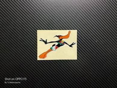 Stiker Pangkah Benetton Itik Terbang