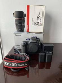 Canon EOS 5D Mark IV camera Body and Lens 24-105mm