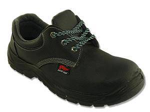Safety Shoes Rhino Low Cut Lace Up Black PU3100
