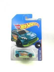 Hotwheels '12 Ford Fiesta #4 HW Racing Green