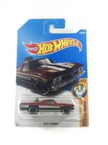 Hotwheels 2017 '68 El Camino #4 Brown