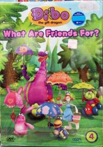 DVD CARTOON Dibo What Are Friends For Vol.4