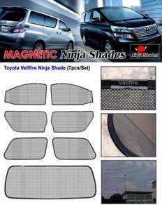 Toyota vellfire 20 magnetic ninja shades bodykit