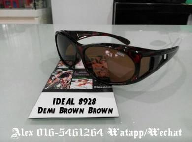 IDEAL SUNGLASSES (8928 demi brown brown)