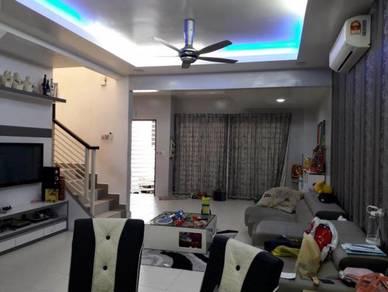 Fully-furnished Double Storey Terrace at Bandar Perdana